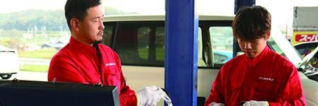 ディーラー基準の 自社指定整備工場
